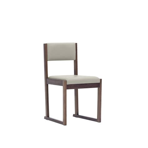 Fabric Dining Chairs Sydney Kell Dining Chair Walnut With Beige Fabric Beyond Furniture