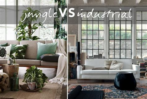 foto di interni di moderne interni moderne lo stile jungle vs industrial