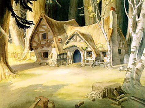 Dwarfs Cottage by Snow White And The Seven Dwarfs Cottage By Wedimagineer