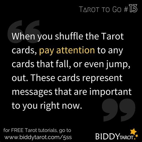 how to make a card jump out of the deck 17 best images about tarot card reading on