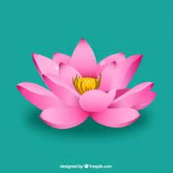 Lotus Flower Vector Pink Lotus Flower Vector Free