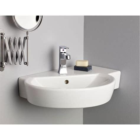 Corner Wall Mount Sinks Bathroom - cheviot barcelona wall mount sink universal design
