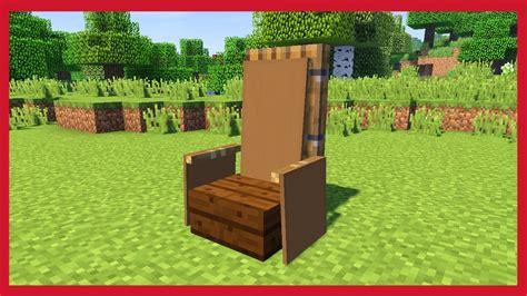 come fare una sedia minecraft come fare una sedia