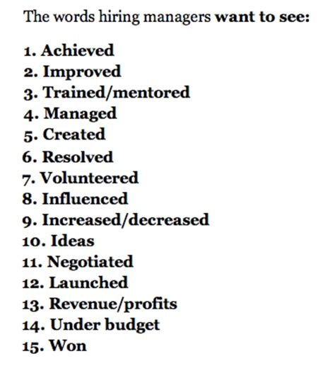 don t use these 17 words in your resum 233