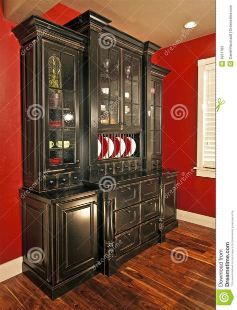 dining room hutch buffet stock image image  building