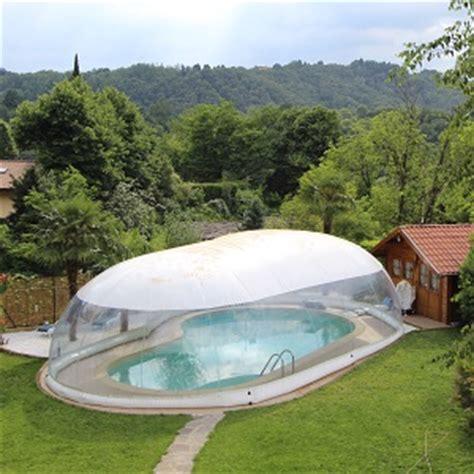 copertura a cupola copertura gonfiabile cristalball wht per piscina prezzo