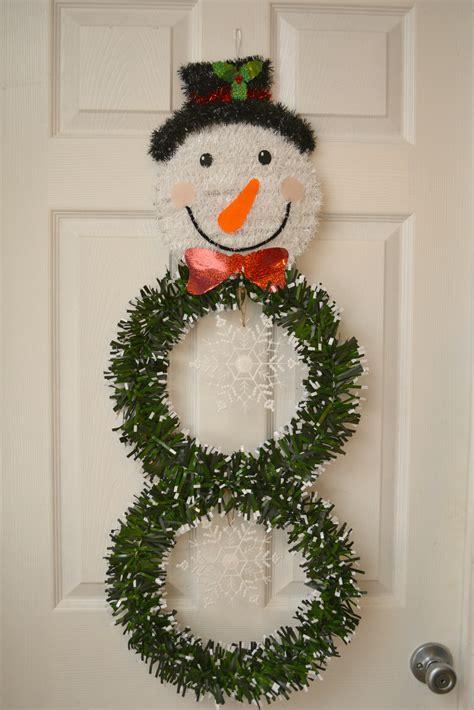 can you still buy xmas tensil diy dollar store snowman wreath tutorial