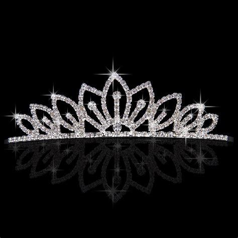 Anti Gores Tempered Glass Oppo A57 rhinestone crown wedding bridal bridesmaid tiara