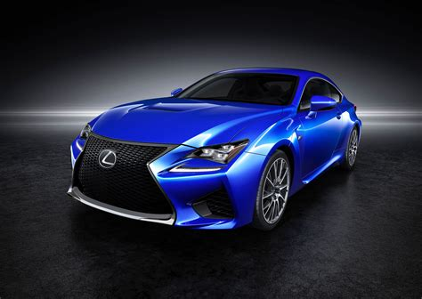 lexus sports car blue 2015 lexus rc f front photo exceed blue metallic color