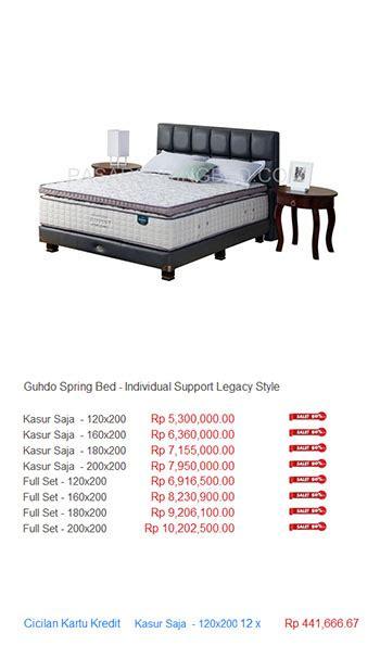 Kasur Guhdo Jakarta harga guhdo bed harga bed termurah di