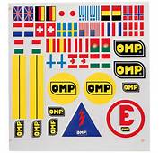 Big Picture OMP Decal Assortment Sheet