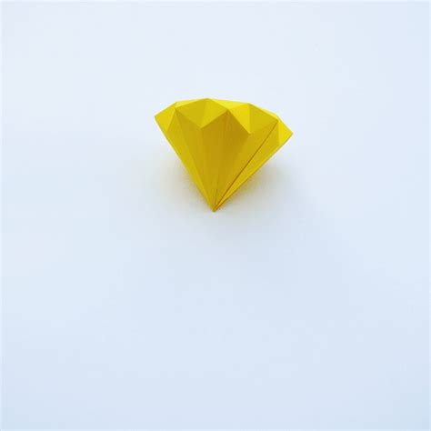 How To Make Diamonds Out Of Paper - 3d paper diamonds minieco