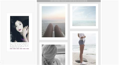 simple tumblr themes big pictures themes by incandescunt