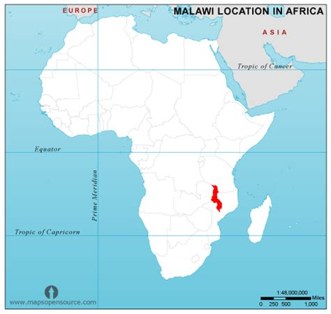 malawi map malawi country profile free maps of malawi open source maps of malawi facts about malawi