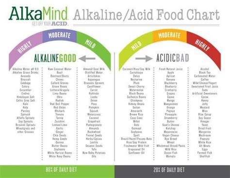 Alkaline Detox Diet Plan by The Food Chart Photo Dr Daryl Gioffre