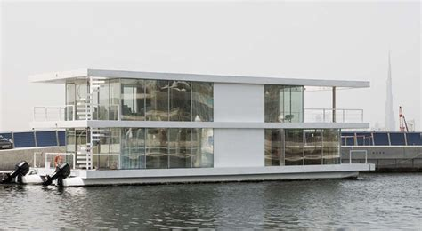 modern house boat 11 awesome exles of modern house boats contemporist