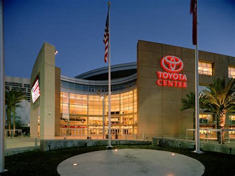 toyota center downtown houston guides