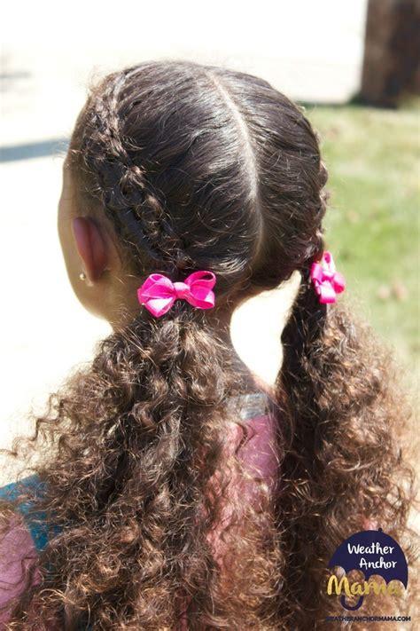 zipper braid hairstyle  curly hair weather anchor mama