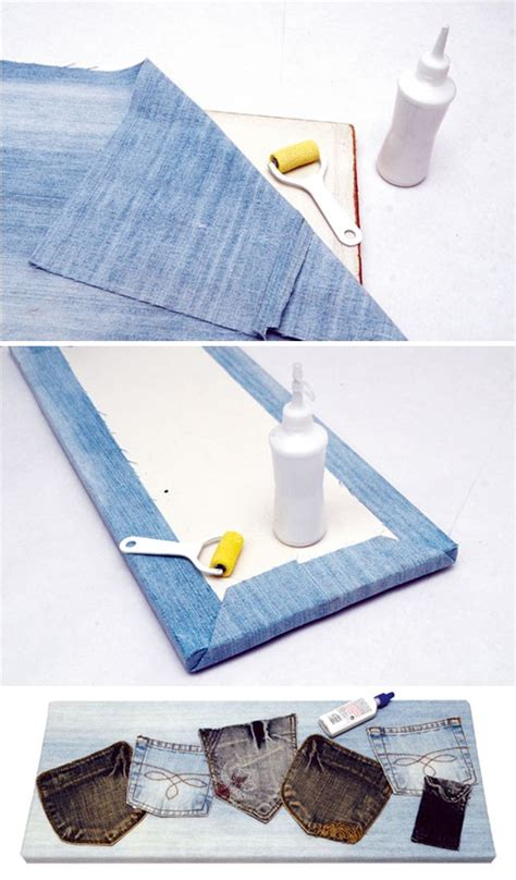 Yellow Kids Bathroom - what to do with old jeans 4 diy ideas for recycling denim jeans