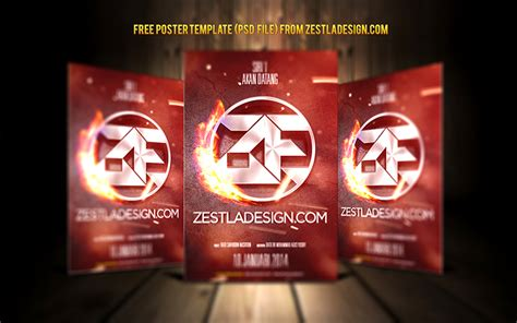 poster templates free photoshop poster template photoshop free logo teaser by