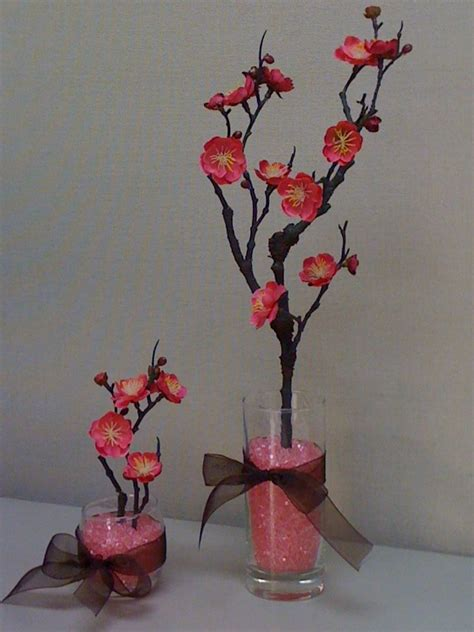 cherry blossom arrangements cherry blossom centerpieces graduation pinterest