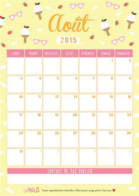 Calendrier J 2015 Sirop De Fraise Lifestyle Et Diy Calendrier 2015