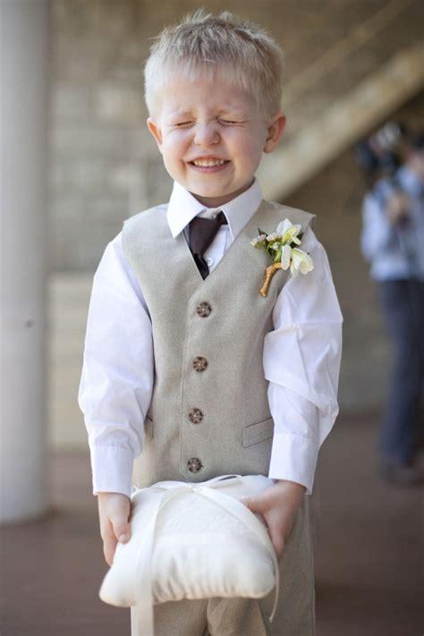 cute shot of ring bearer wedding pinsperation pinterest