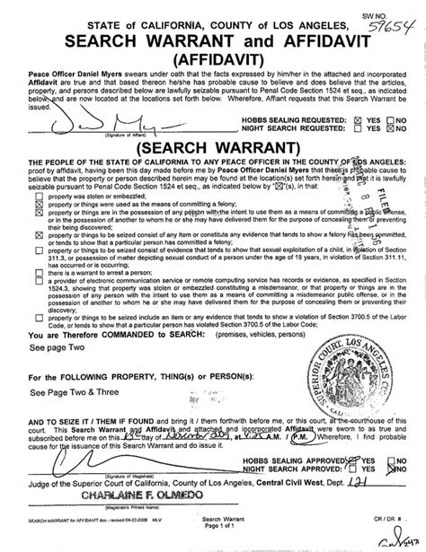 Colorado Warrant Search Search Warrant Docs Images