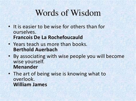 great words of wisdom quotes