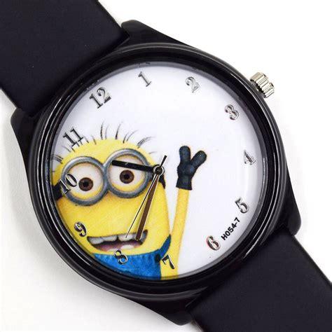 Jam Tangan Black jam tangan minion black jakartanotebook