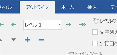Word Outline View Keyboard Shortcuts by アウトラインモードで表示レベルを変更するショートカットキー Word ワード の使い方