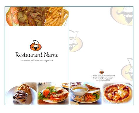 31 free restaurant menu templates designs free