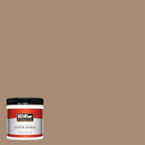 behr premium plus 8 oz n240 5 rodeo interior exterior paint sle pp10416 the home depot