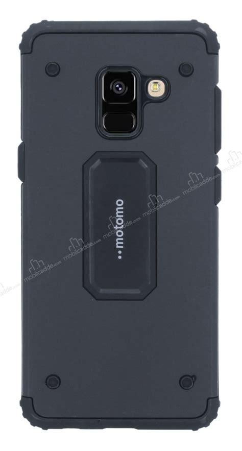 Motomo Samsung Galaxy A8 motomo samsung galaxy a8 plus 2018 ultra koruma siyah k箟l箟f