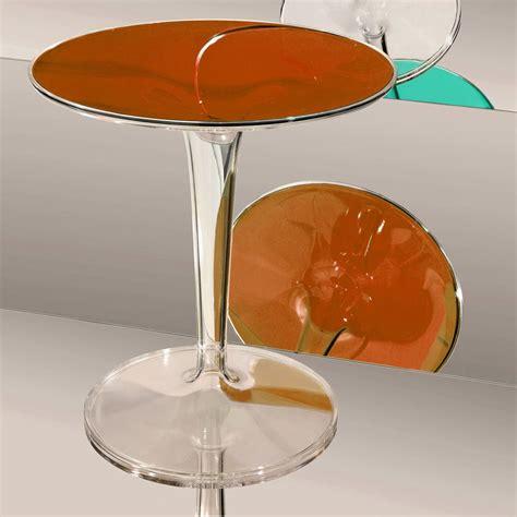 kartell comodini tiptop tavolino kartell di design diametro 48 cm