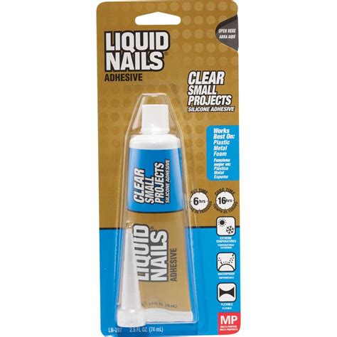 liquid nails beautify themselves with sweet nails