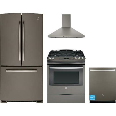 ge kitchen appliance packages ge slate complete kitchen package gns23gmhes