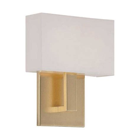 Lighting Wall Sconces Manhattan Led Wall Sconce By Dweled By Wac Lighting Ws 13107 Br
