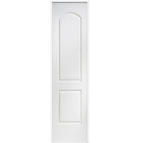 26 Prehung Interior Door Mmi Door 26 In X 80 In Smooth Caiman Left Solid Primed Molded Mdf Single Prehung