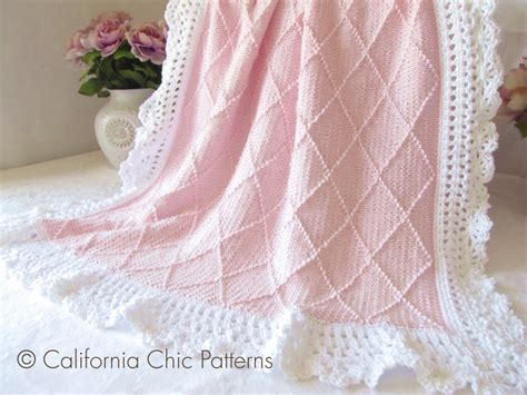 knitted baby comforter knitting pattern 63 knit baby blanket pattern 63