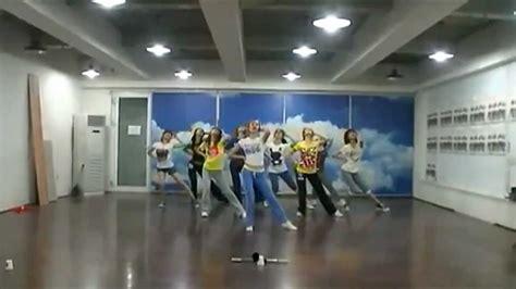 tutorial dance snsd genie hd genie mirrored dance practice snsd 소녀시대 youtube