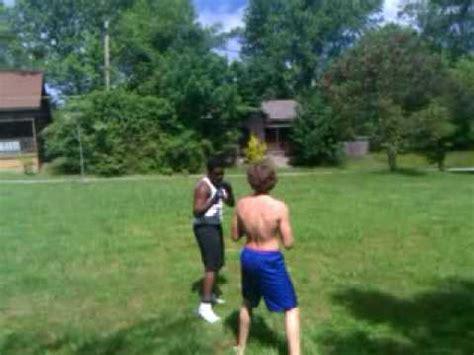 backyard ufc backyard ufc style fighting pat v tyler youtube