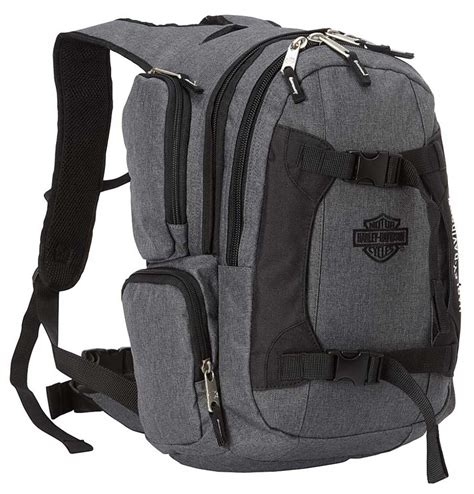 harley davidson bar shield equipt multi functional backpack gray 99419 ebay