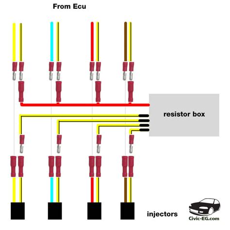 obd1 resistor box wiring index of misc2 civic wiring