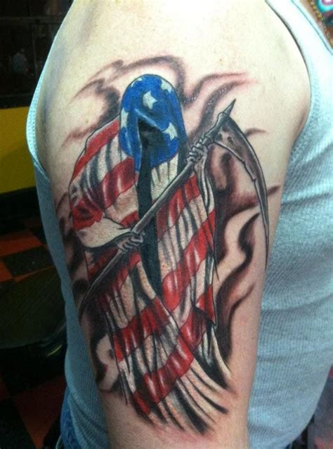 skin tear patriotic flag tattoos for boys 187 tattoo ideas