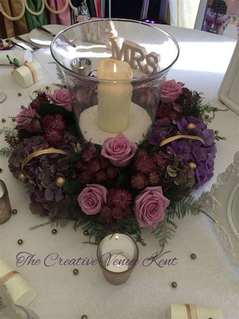 hurricane table ls 172 best fresh flower rings and wreaths images on