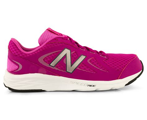 athletic shoe fitting stores new balance s wide fit 490v4 running shoe pink ebay