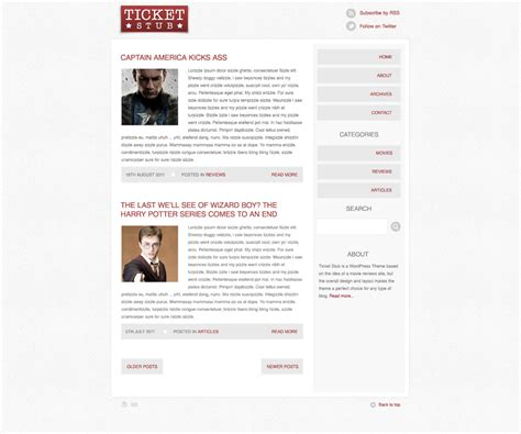 tutorial blogspot layout how to create a blog theme concept in photoshop