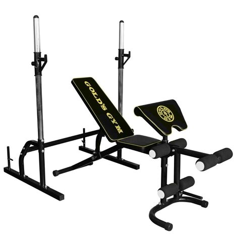 gold gym workout bench golds gym deluxe bench sweatband com
