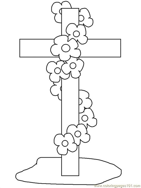 coloring pages cross other gt religions free printable